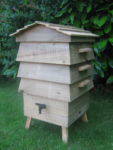 Wooden Beehive Wormery Cheshire Wood
